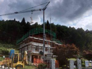 Cantieri in fase di realizzazione